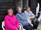 Our hardy supporters feeling damp and chilly at Brighton BC