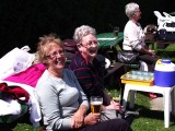 Our Supporters seem happy in the sunshine